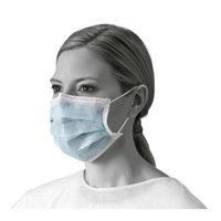 Medline Earloop Face Mask, 25 ct, 24 Boxes per Case
