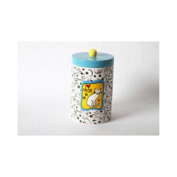 Dennis East DEI Mr. Snugs Cat Treat Jar