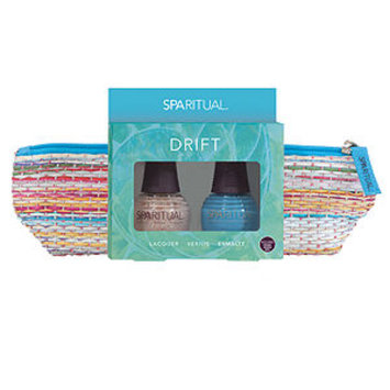 SpaRitual DRIFT Lacquer Duo with Straw Woven Bag, 1 ea