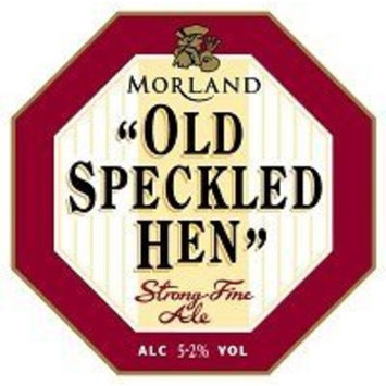 GREENE KING / MORLAND BREWERY Speckled Hen Ale 12 OZ
