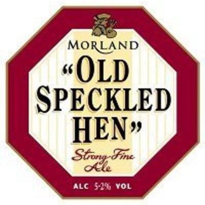GREENE KING / MORLAND BREWERY Speckled Hen Ale 12 OZ