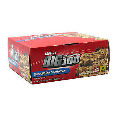 Met-Rx Chocolate Chip Cookie Dough Meal Replacement Bars