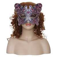 Seasons Buttery Fly Masquerade Mask - Pink