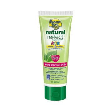 Banana Boat Natural Reflect Kids Sunscreen Lotion With SPF 50