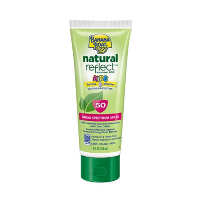 Banana Boat Natural Reflect Kids Sunscreen Lotion With SPF 50