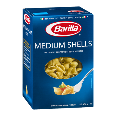 Barilla Pasta Medium Shells