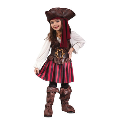Funworld High Seas Buccaneer Girl Toddler Costume