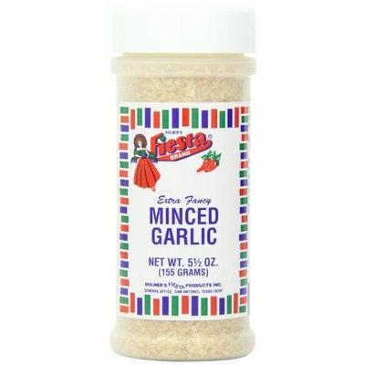 Fiesta Minced Garlic, 5.5-Ounce (Pack of 6)
