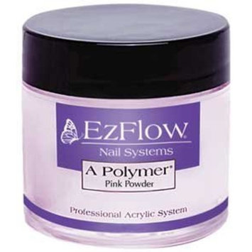 Ezflow EZ Flow A Polymer False Nails, Pink, 4 Ounce