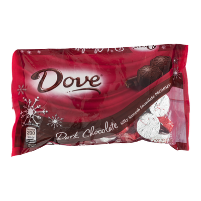 Dove Dark Chocolate Snowflake Promises