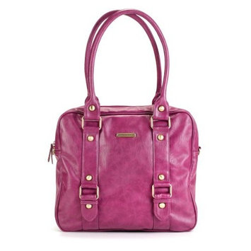 Timi And Leslie timi & leslie Baby Jane Diaper Bag, Raspberry (Discontinued by Manufacturer)