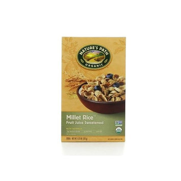 Nature's Path Natures Path Organic Cold Millet Rice Flake Cereal 13.25 Ounce