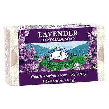 Lavender Handmade Soap Laid In Montana 3.5 oz Bar