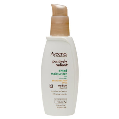 Aveeno Active Naturals Positively Radiant Tinted Moisturizer