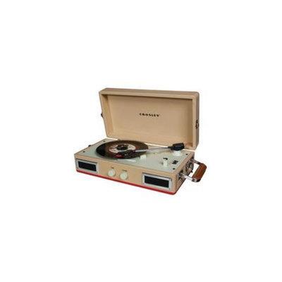 Crosley CR40-RE Mini Turntable - Red-Tan