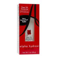 Alpha Hydrox Sheer Silk Moisturizer SPF 15 UVA/UVB Sunscreen & AHA