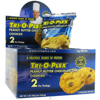 Chef Jay's Tri-O-Plex Cookies - Peanut Butter Chocolate Chip