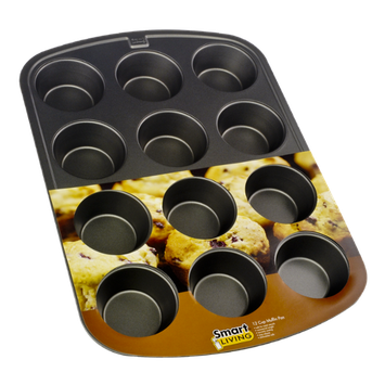 Smart Living 12 Cup Muffin Pan