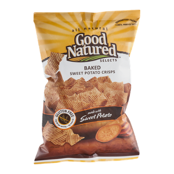 Good Natured Selects Baked Sweet Potato Crisps