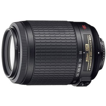 Nikon 55-200mm Digital Telephoto Zoom Lens - f/ 4-5.6G ED-IF AF-S DX