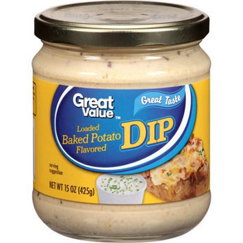 Wal-mart Stores, Inc. Great Value Loaded Baked Potato Flavored Dip, 15 oz