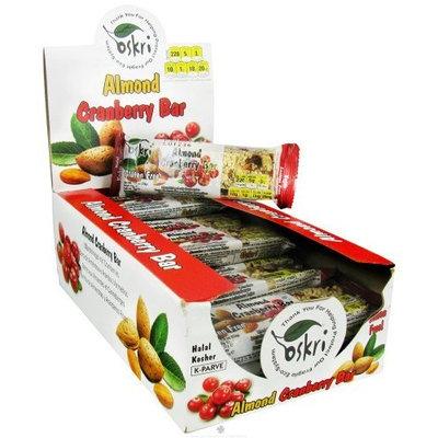 Oskri Organics Oskri - Almond Cranberry Bar Gluten-Free - 1.9 oz.