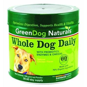 Rainbow Light GreenDog Naturals, Whole Dog Daily Powder, 150 grams
