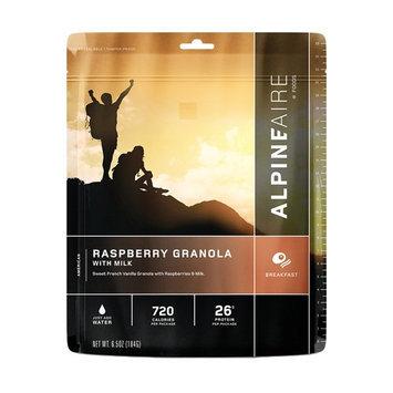 Alpine Aire Foods Raspberry Granola with Milk ( Serves 2)