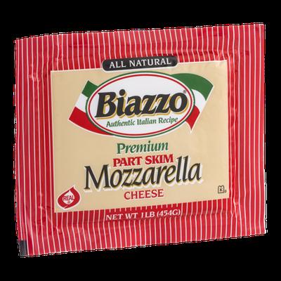 Biazzo Premium Part Skim Mozzarella Cheese