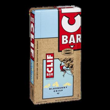 Clif Energy Bar Blueberry Crisp - 12 CT