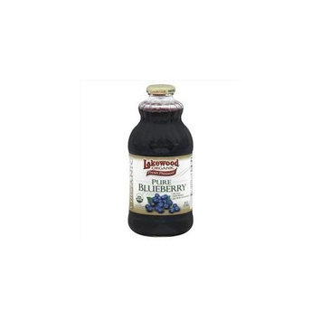 Lakewood Blueberry, Pure, 32-Ounce (Pack of 12)