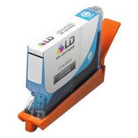 LD Compatible Sharp Cyan AJ-T20C inkjet cartridge.