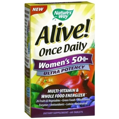 Nature's Way Alive! Once Daily Women's 50+ Ultra Potency Multivitamin