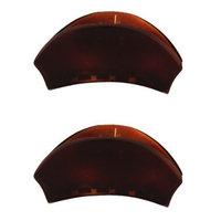 Caravan Hair Claw Tortoise Shell Pair Model No. 672/2