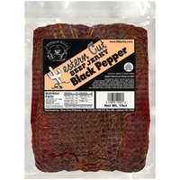 Buffalo Bills Premium Snacks Buffalo Bills 18oz Black Pepper Western Cut Big Slab Beef Jerky (15 beef jerky slabs per bag)