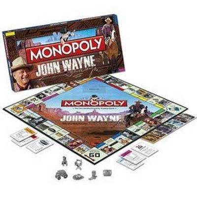USAopoly Monopoly John Wayne Ages 8 and up, 1 ea