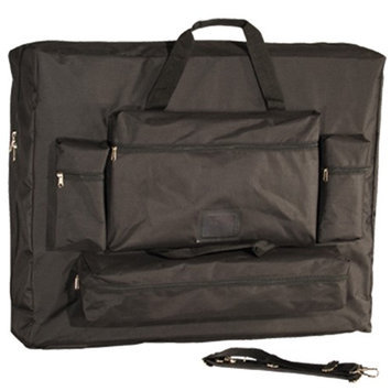 Vandue Corporation Royal Massage Deluxe Black Universal Oversized Massage Table Carry Case - 28