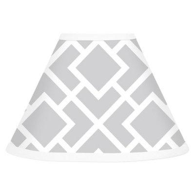 Sweet JoJo Designs Sweet Jojo Designs Diamond Lamp Shade - Gray and White
