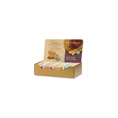 Davidson's Tea Davidson Organic Tea 1151 Single Serve Assorted Dessert Tea