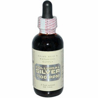 Amino Acid and Botanical Supply Colloidal Silver 1100 ppm 2 fl oz