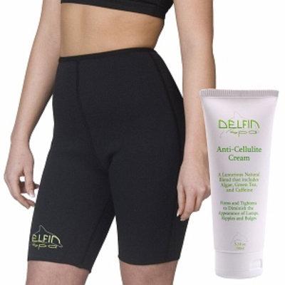 Delfin Spa Bio Ceramic Anti Cellulite Shorts and Cream