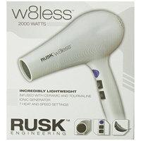 Rusk W8less Professional Lightweight Ceramic Tourmaline Hair Dryer, 2000 Watt
