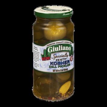 Giuliano Specialty Zesty Kosher Dill Pickles