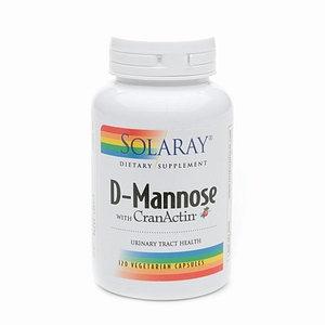 Solaray D-Mannose w/CranActin 1000mg