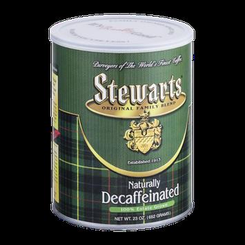 Stewarts Naturally Decaffeinated Coffee