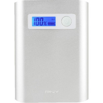 PNY P-B-10400-24-S02-RB PowerPack AD10400 1 Amp / 1 Amp / 2.4 Amp 10400mAh Portable Battery Charger