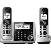Panasonic Link2Cell KX-TGF372S Bluetooth Cordless Phone - Silver