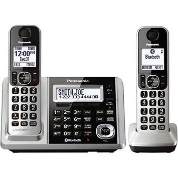Panasonic Link2Cell KX-TGF372S Bluetooth Cordless Phone - Silver