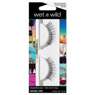 Wet 'n' Wild Wet n Wild Eyelashes & Glue, Natural Sync, 1 ea