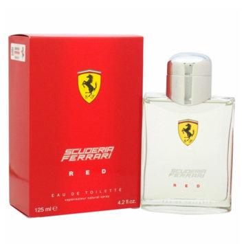 Ferrari Scuderia Red Eau de Toilette Spray, 4.2 fl oz